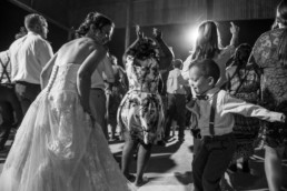 Modern mood wedding photography lubbock bride party dance