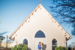 Lubbock Chapel Photo engagement modern photography