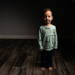 kid modern photography one light mood family photo lubbock